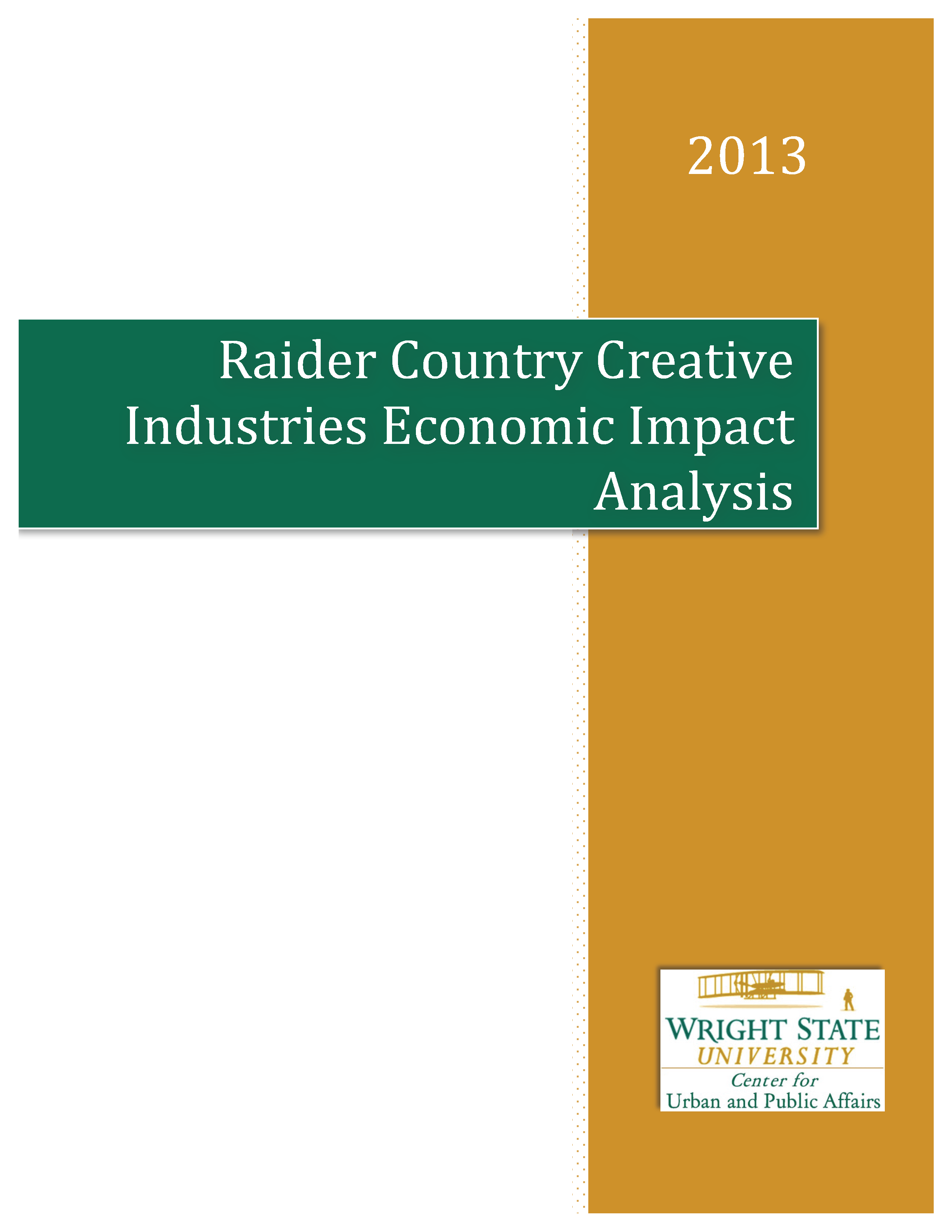 2013 Raider Country Creative Industries Economic Impact Analysis Report_Cover.png
