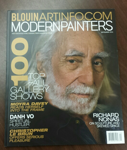 cover of Modern Painters