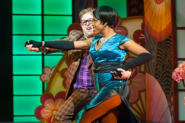 photo from the theatre production of hot mikado