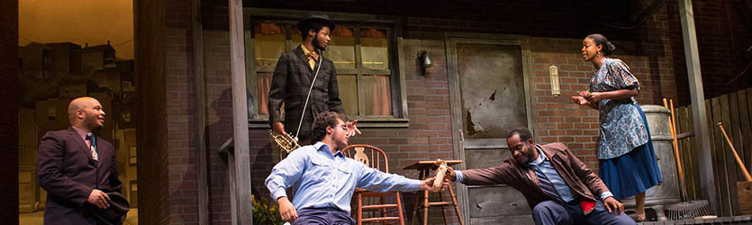 photo from the theatre production fences