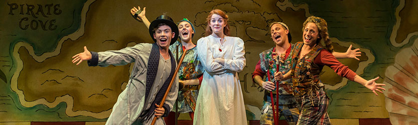 photo from the production of peter pan