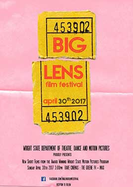 Big Lens Film Festival - April 30, 2017 - Rave Cinemas at The Greene