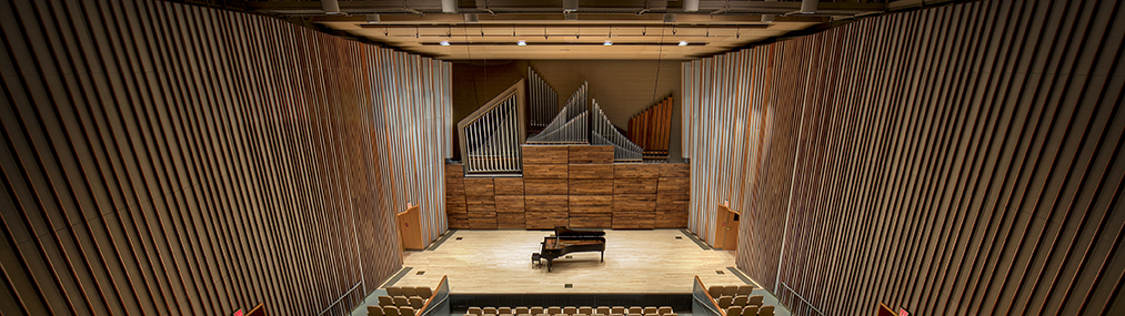 Schuster Hall stage