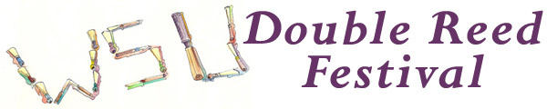 Double Reed Festival logo.