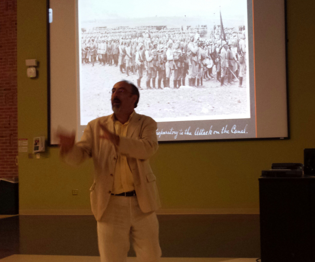 Issam Nassar lecture photo