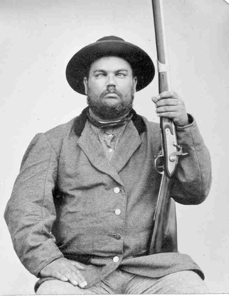 Paul Gettysburg Portrait