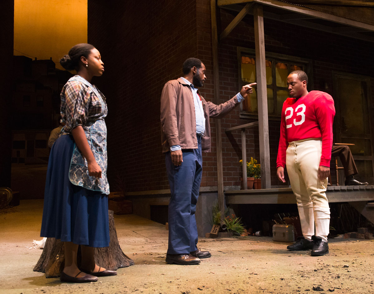 racism and poverty in the play fences by august wilson Whereas august wilson's play fences (1985) and other tales of black baseball   glory rather than attending to the persistence of racial injustices  of it within the  context of the couple's poverty-stricken surroundings and.