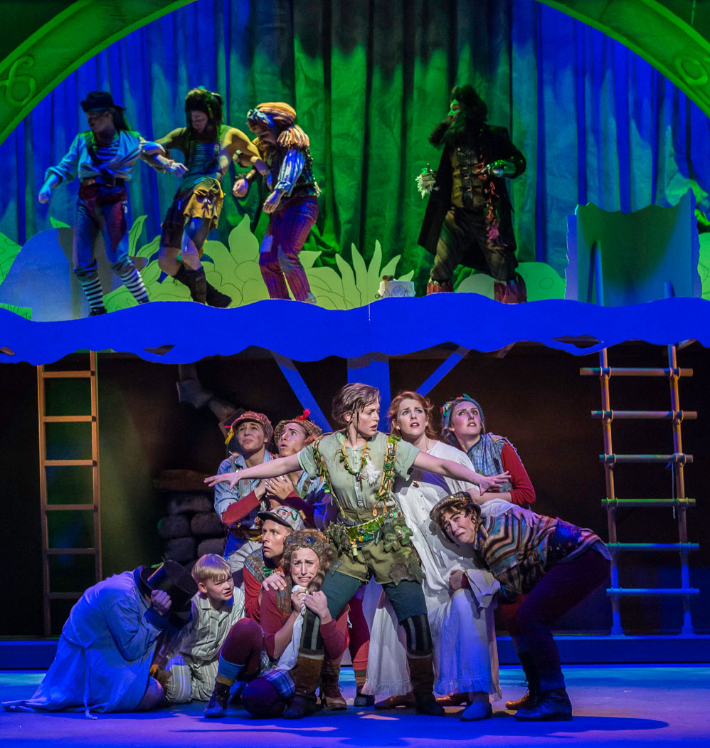 Year Calendar Design : Peter pan theatre dance and motion pictures college