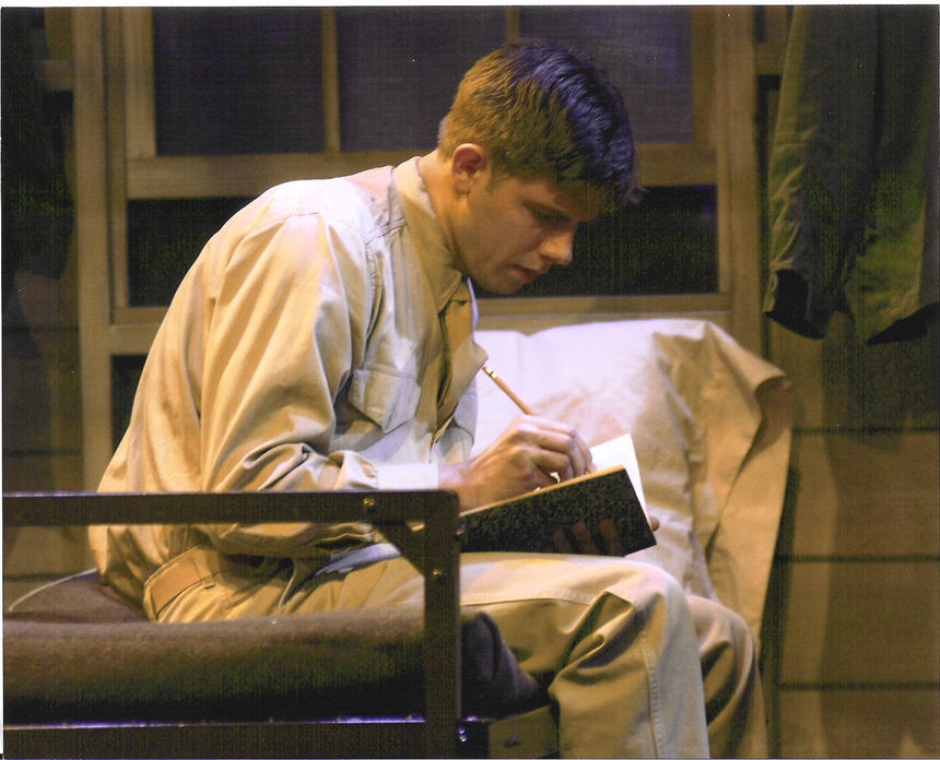 photo from the theatre production biloxi blues