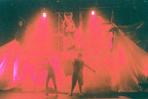 photo from the theatre production inferno