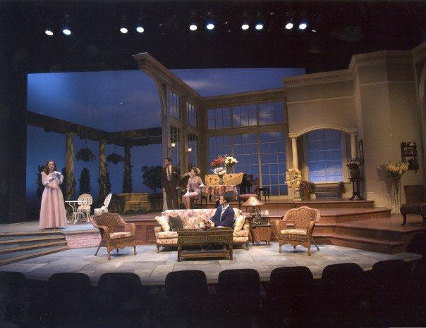 photo from the theatre production the philadelphia story