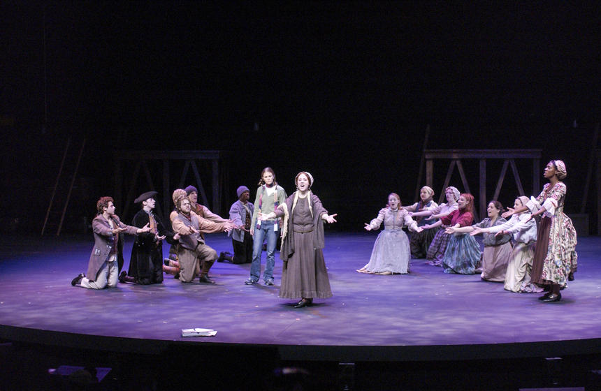photo from the theatre production states of independence