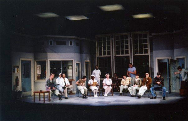 photo from the theatre production one flew over the cuckoos nest