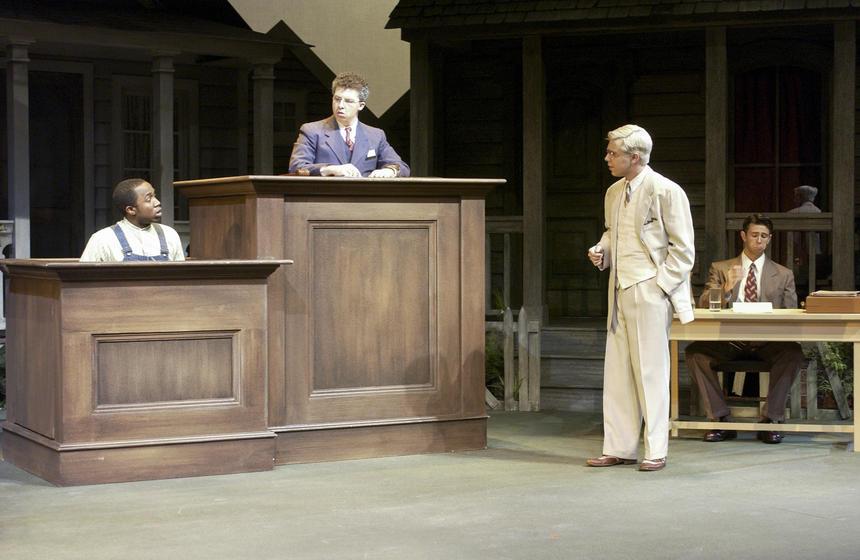 photo from the theatre production to kill a mockingbird