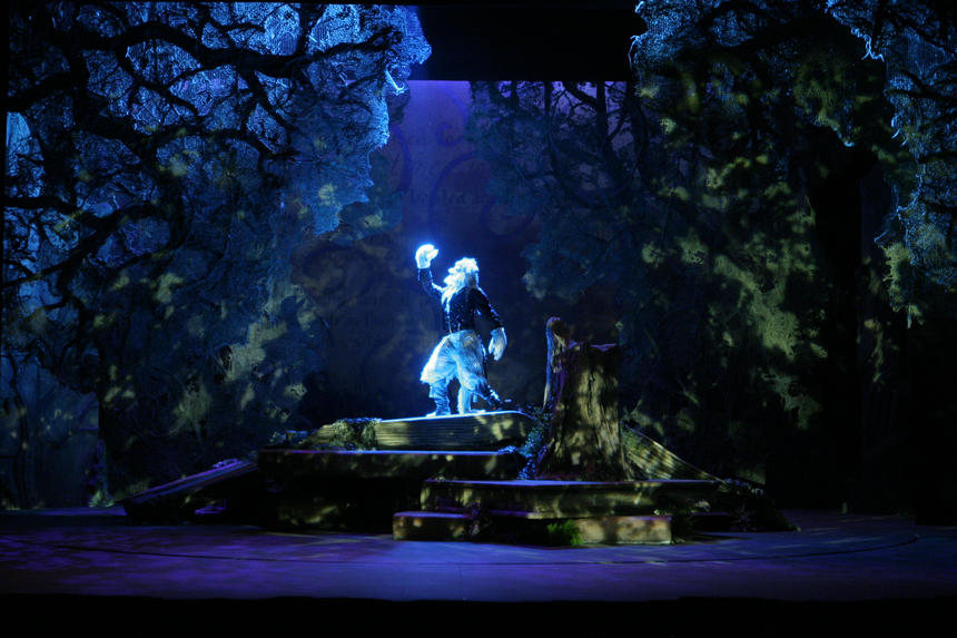 photo from the theatre production into the woods