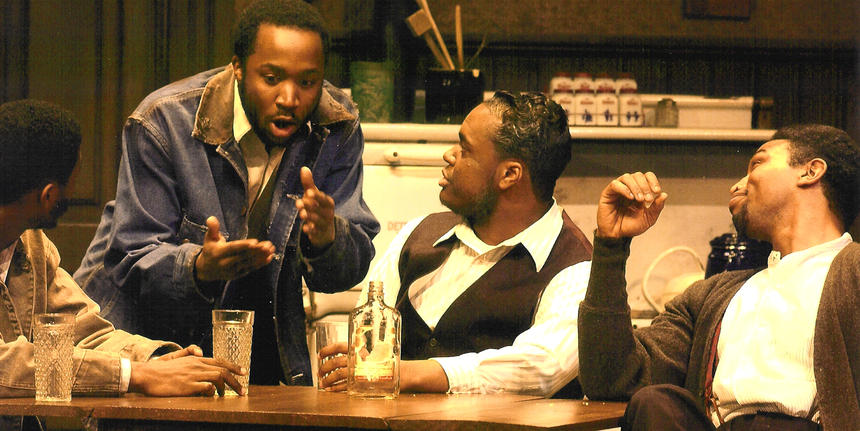 photo from the theatre production the piano lesson