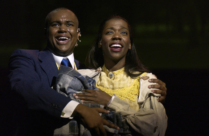 photo from the theatre production ragtime