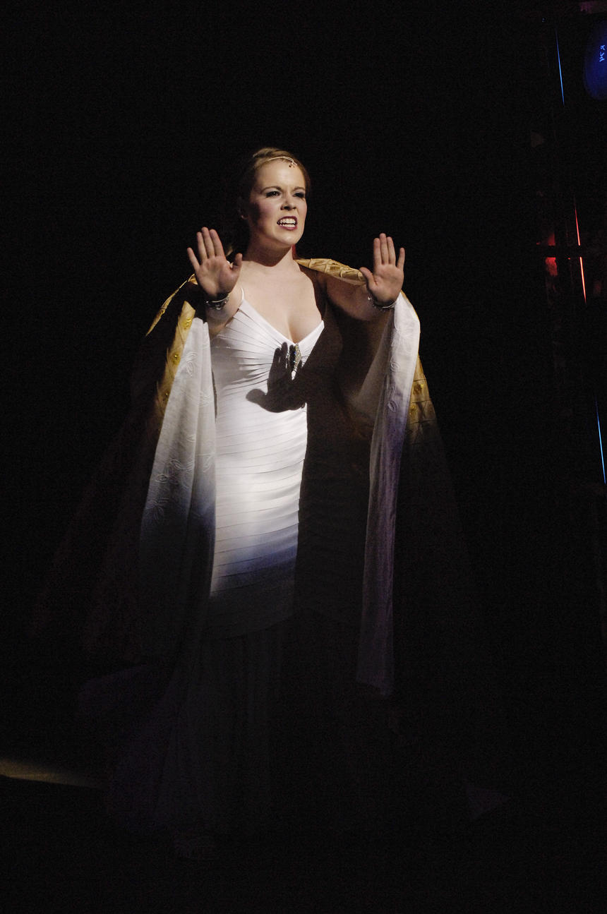 photo from the theatre production aida