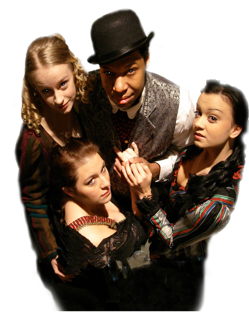 photo from the theatre production the threepenny opera