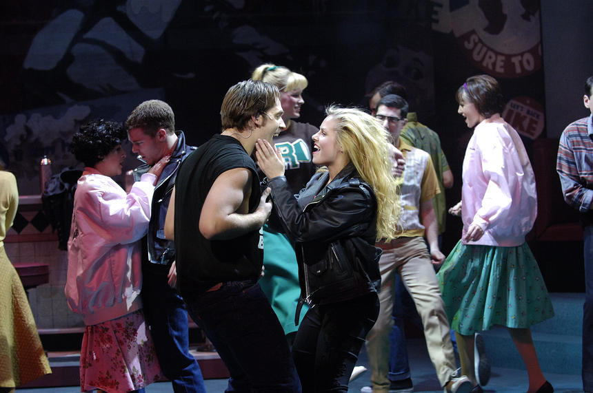 photo from the theatre production grease