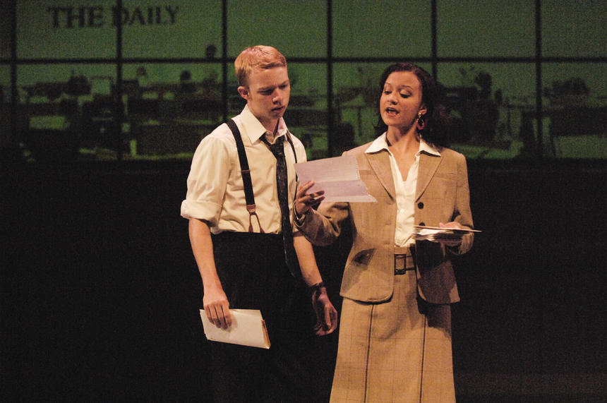 photo from the theatre production the story