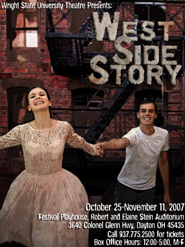 photo from the theatre production west side story