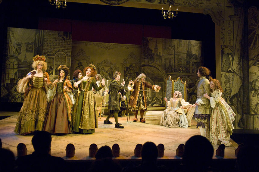 photo from the theatre production the country wife