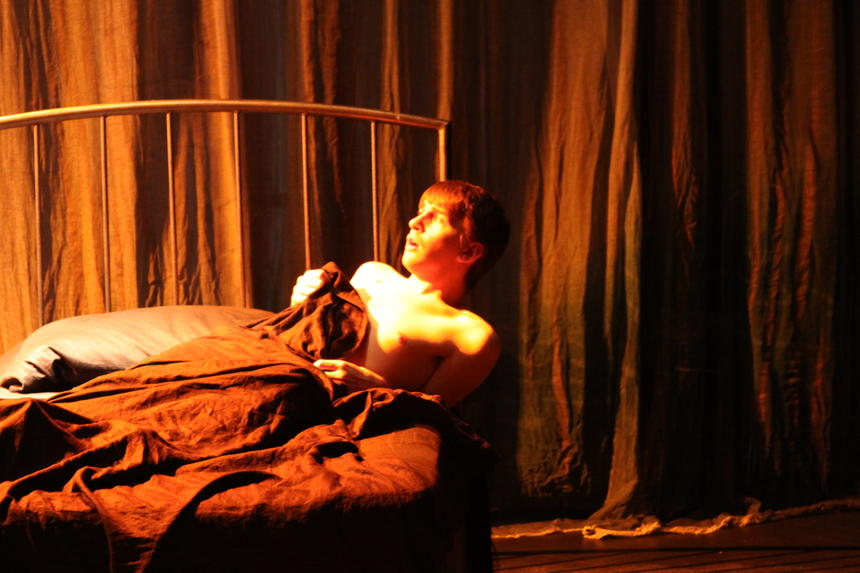 photo from the theatre production angels in america