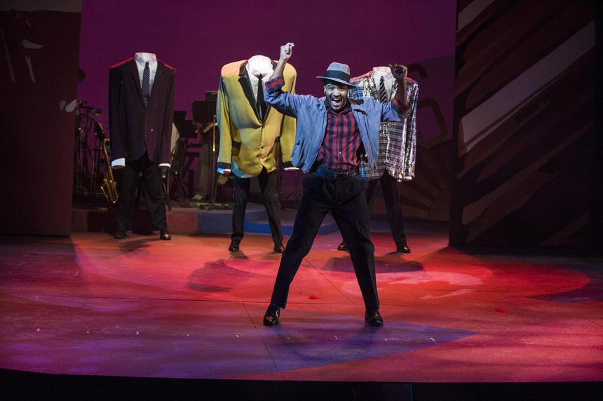 photo from the theatre production smokey joe's cafe