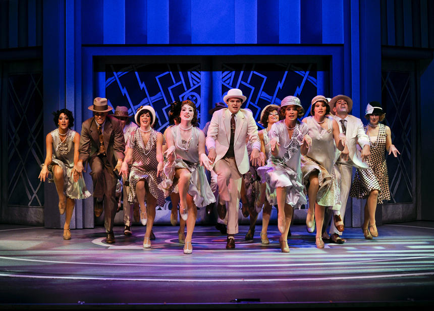 photo from the theatre production thoroughly modern millie