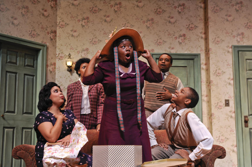 photo from the theatre production a raisin in the sun