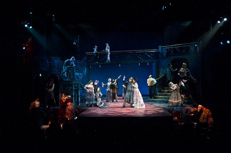 photo from the theatre production jekyll and hyde the musical