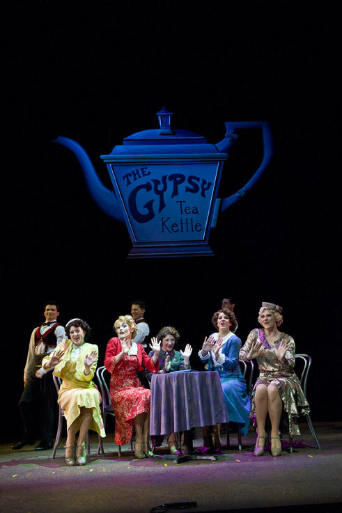 photo from the theatre production 42nd street