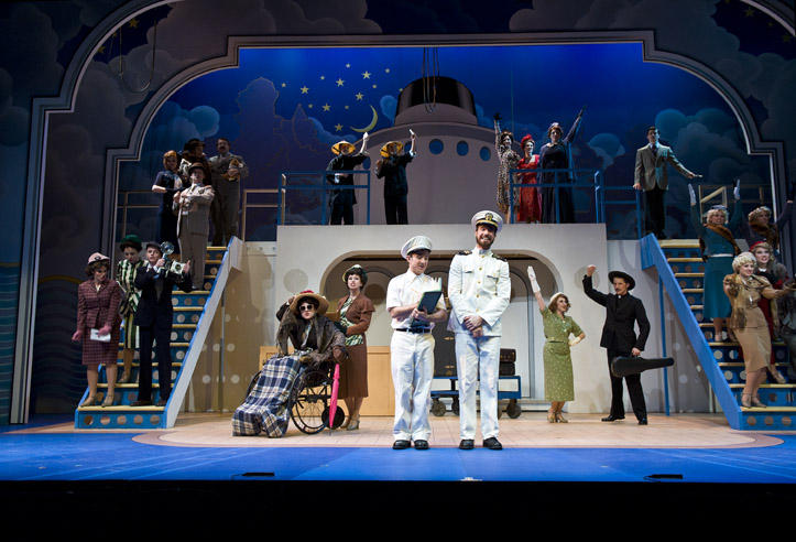 photo from the theatre production anything goes