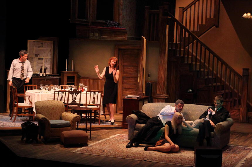 photo from the theatre production august: osage county