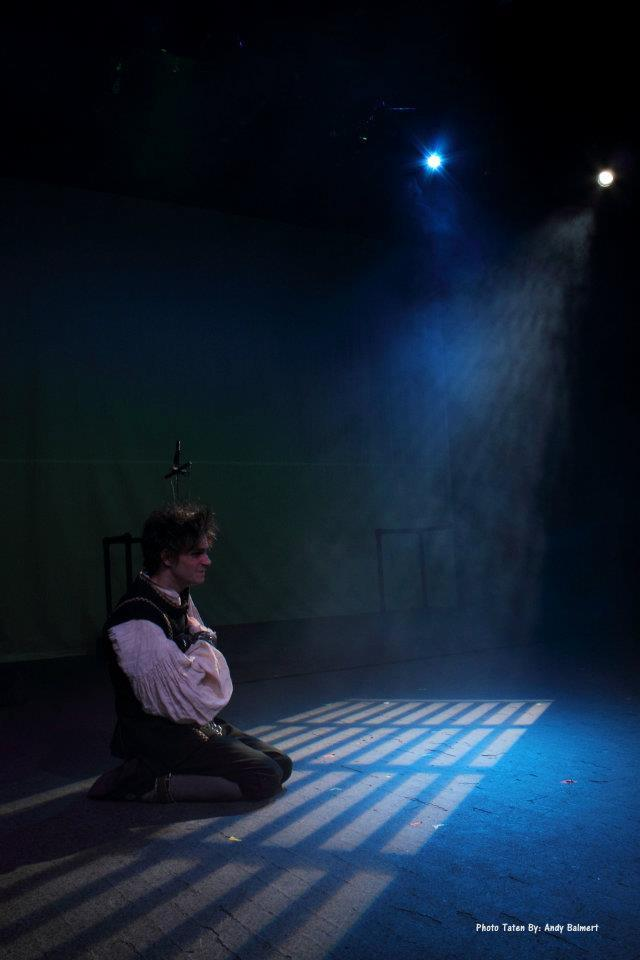 photo from the theatre production barnaby rudge II