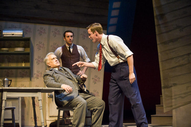photo from the theatre production death of a salesman