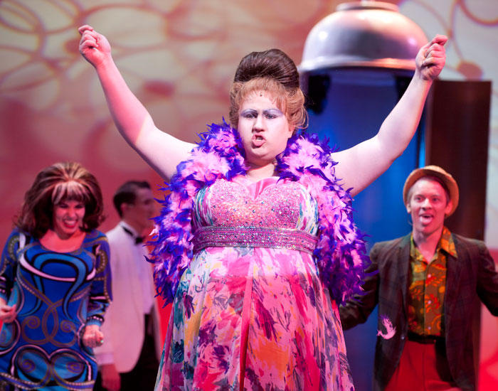 photo from the theatre production hairspray