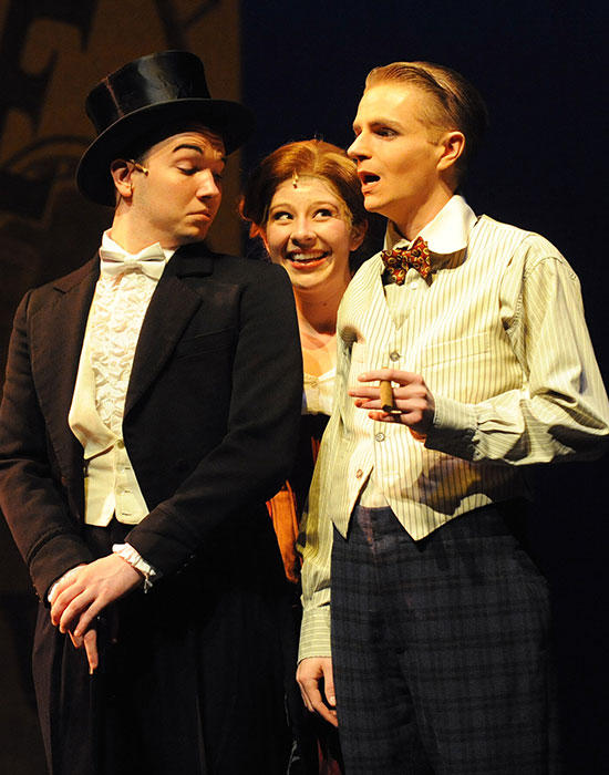 photo from the theatre production funny girl
