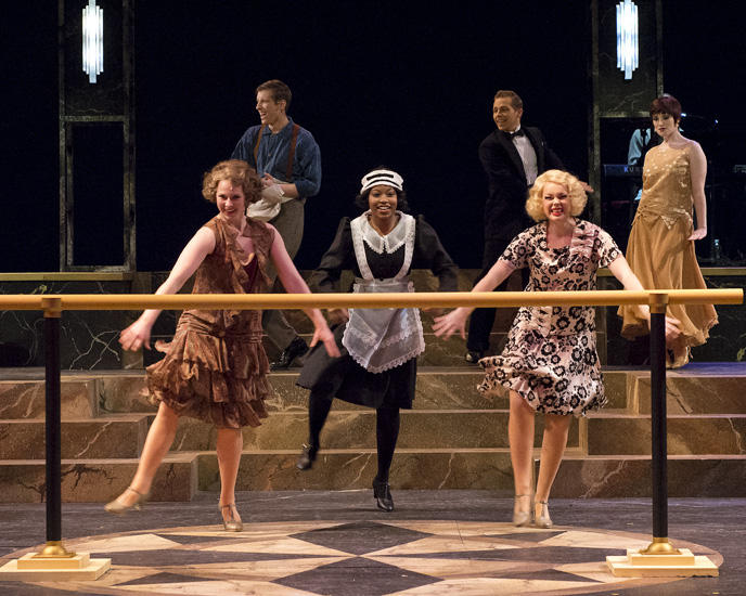 photo from the theatre production the grand hotel