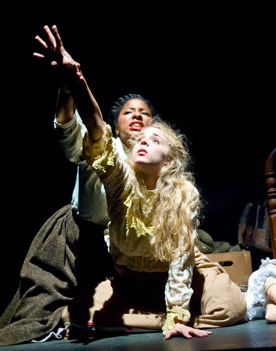 photo from the theatre production the miracle worker