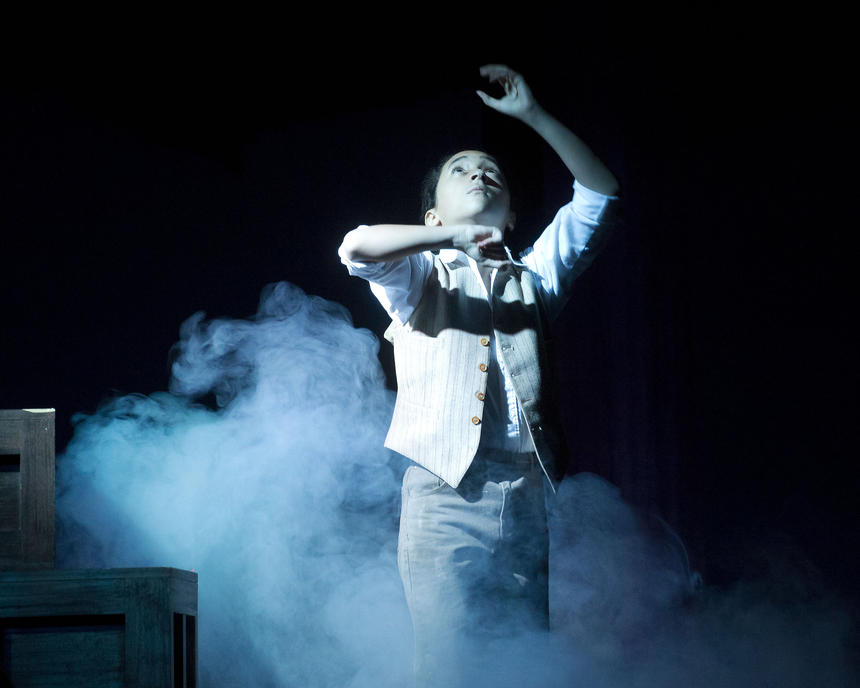 photo from the theatre production the magic fire