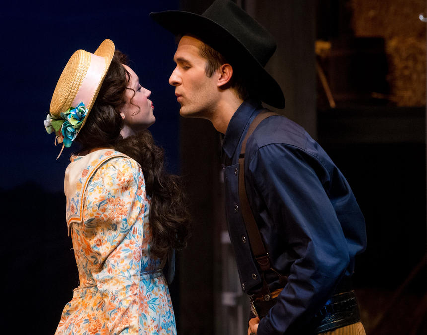 photo from the theatre production oklahoma