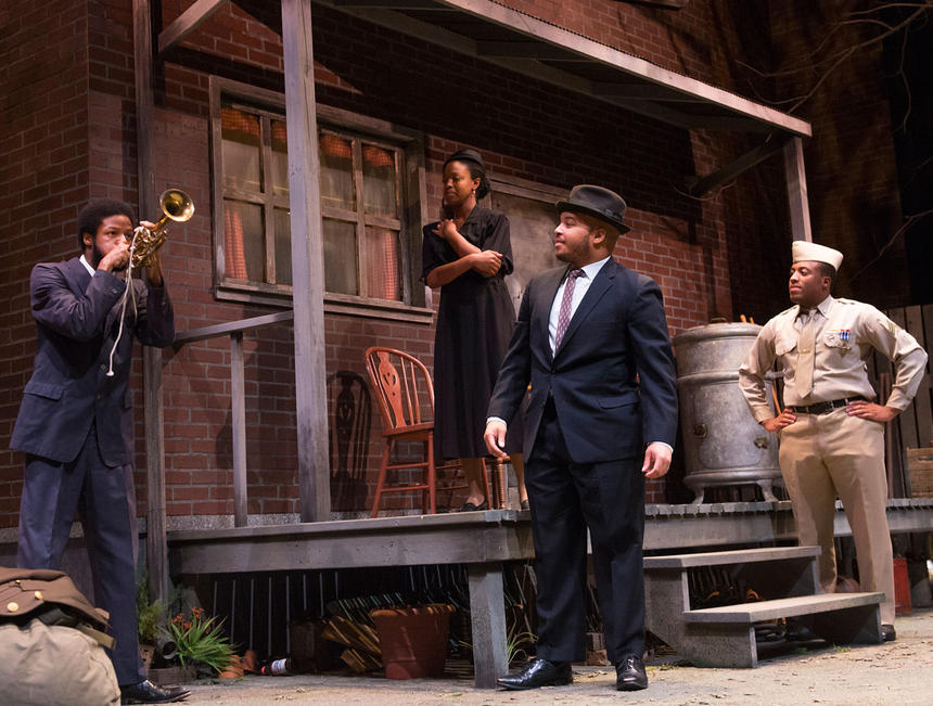 photo from the theatre production of fences