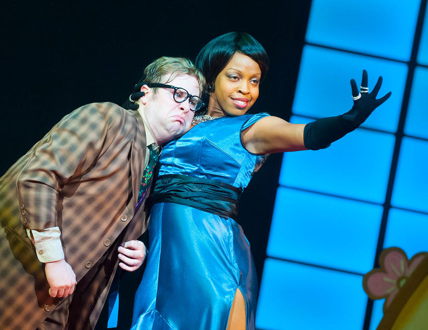 photo from the theatre production hot mikado