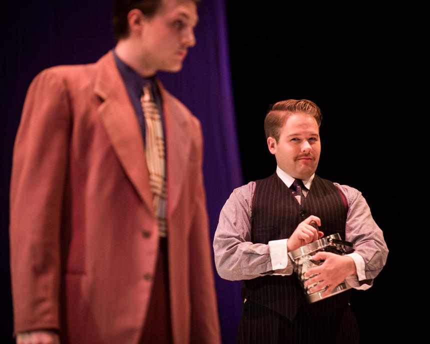 photo from the theatre production the great gatsby
