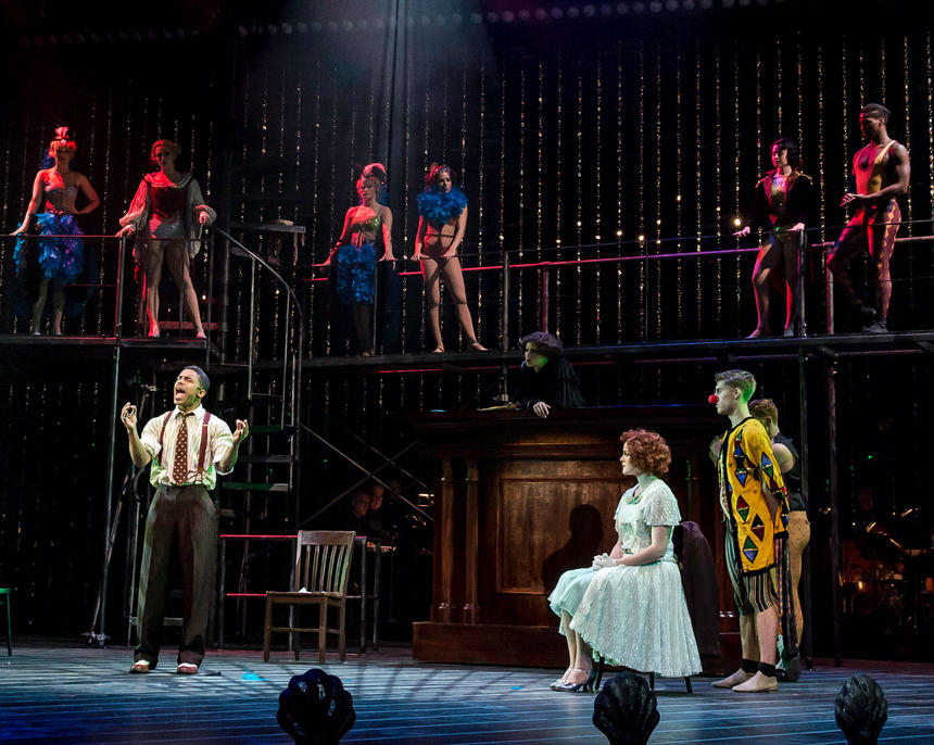 photo from the theatre production chicago