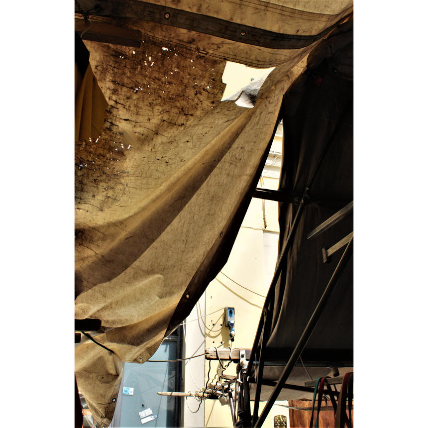 """Michael Krieger, Photography and Painting concentration, """"Florentine Tarps"""" (2 of 2)"""