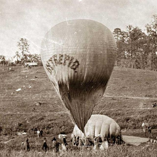 Thaddeus lowe balloon