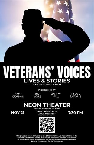 Veteran's Voices Flyer